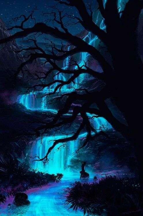 青い神秘的な画像が集まるトピ