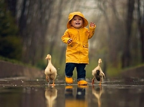 雨の子育て☂️