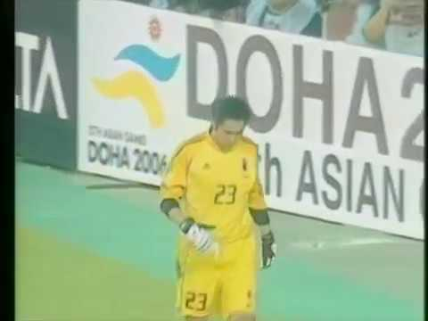 アジアカップ2004 準々決勝 日本対ヨルダン PK戦  重慶の奇蹟 - YouTube