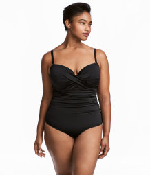 H&M+ Swimsuit | Black | Women | H&M US