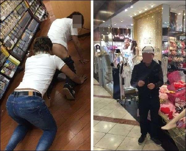 ユーチューバーが店の商品の山に登って崩す迷惑行為!動画に非難殺到で炎上