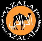 子安貝チョーカー<アフリカのビーズアクセサリー:アフリカ雑貨アザライ