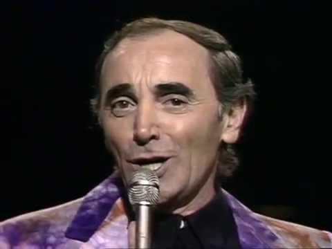 シャルル・アズナブール 忘れじの面影 Charles Aznavour She - YouTube