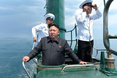 北朝鮮、新たなSLBM発射実験の準備か 衛星写真 写真1枚 国際ニュース:AFPBB News