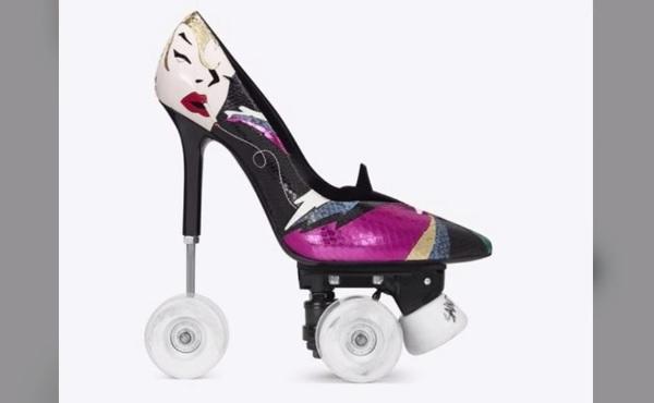 高級ブランドからローラースケートのピンヒールが登場!? - AOLニュース