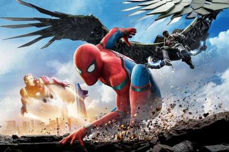 映画『ミニオン大脱走』V4 『スパイダーマン』新作は2位発進