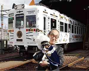 全国初「ねこカフェ列車」の運行決定