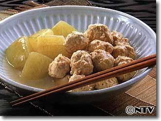 鶏だんごと冬瓜の煮もののレシピ|キユーピー3分クッキング