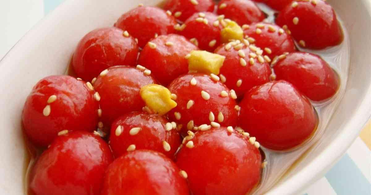 ヤマキのめんつゆで、プチトマトのマリネ☆ by ぽよママ [クックパッド] 簡単おいしいみんなのレシピが273万品