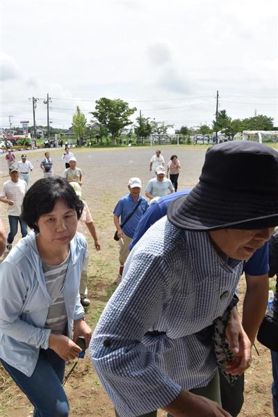 【北ミサイル】ミサイル着弾想定の避難訓練に反対する人々 どんな人たち? 「訓練を行うことは戦争に人々を動員すること」 「北朝鮮を刺激する」(1/3ページ) - 産経ニュース