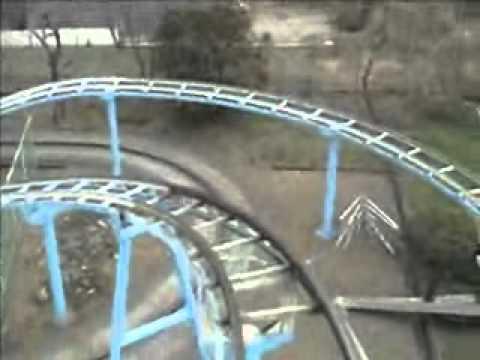 南郷水産センタージェットコースター前面展望 - YouTube