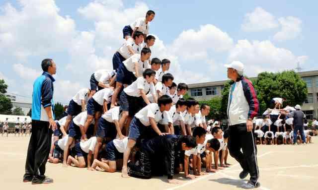 組み体操中止、中学の3割 事故多発受け 74市区調査 (朝日新聞デジタル) - Yahoo!ニュース