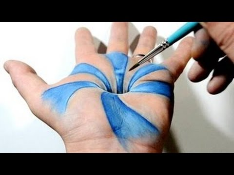 22 Most Unbelievable Body Art Illusions - YouTube