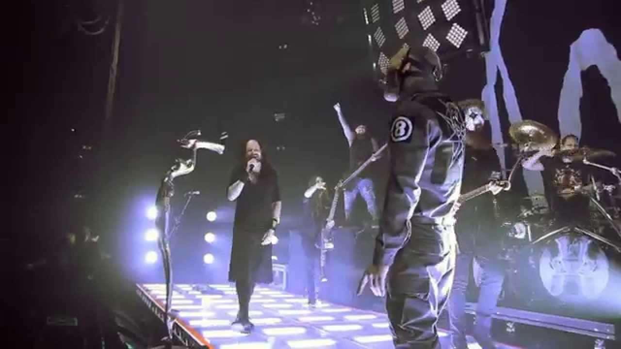 Korn - 'Sabotage' Featuring Slipknot live in London 2015 - YouTube