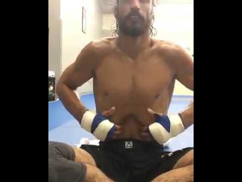 Kron Gracie Yoga Breathing Exercise Crazy Core! - YouTube