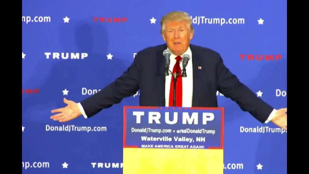 LiveLeak.com - Donald Trump Schools Idealistic Kid About Japan Waterville, NH 12/01/15