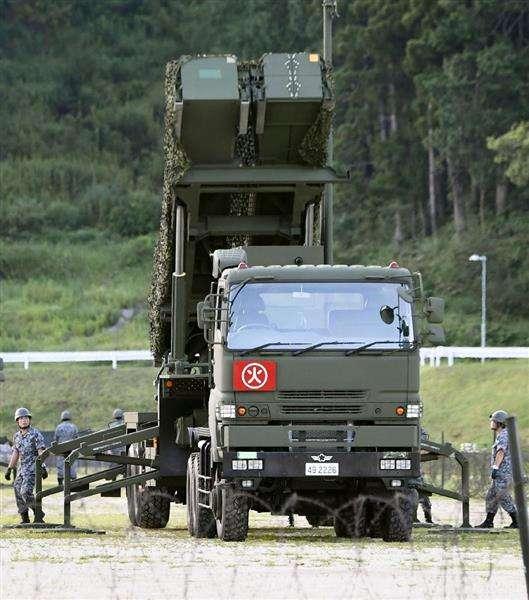 【北ミサイル】対北ミサイル PAC3、中四国4県の陸自駐屯地に到着 - 産経ニュース