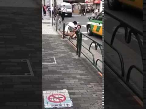 【動画あり】池袋路上で中国人が強姦未遂事件を起こす。 - YouTube