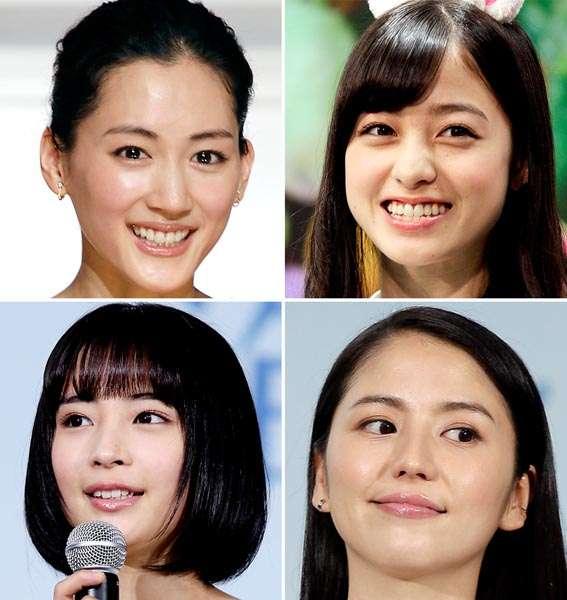 綾瀬はるか、橋本環奈…4Kテレビに暴かれる芸能人の肌事情