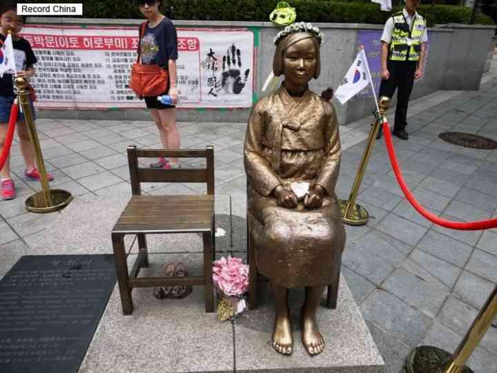 ソウルに12体目の慰安婦像設置、市長が祝辞=ネットには否定... - Record China