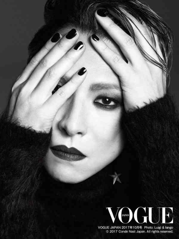 X JAPAN・YOSHIKI、日本人男性初の快挙「VOGUE JAPAN」表紙に抜擢 手術後初の撮影に