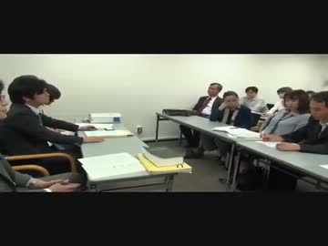 朝鮮学校無償化 文部省との交渉現場 by mametank 政治/動画 - ニコニコ動画