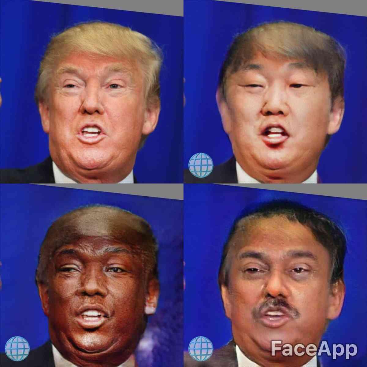白人の顔が黒人に!人気アプリの「人種」を変える機能に批判殺到