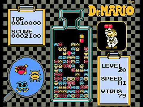 [FC]ドクターマリオ(Dr. MARIO)BGM集 - YouTube