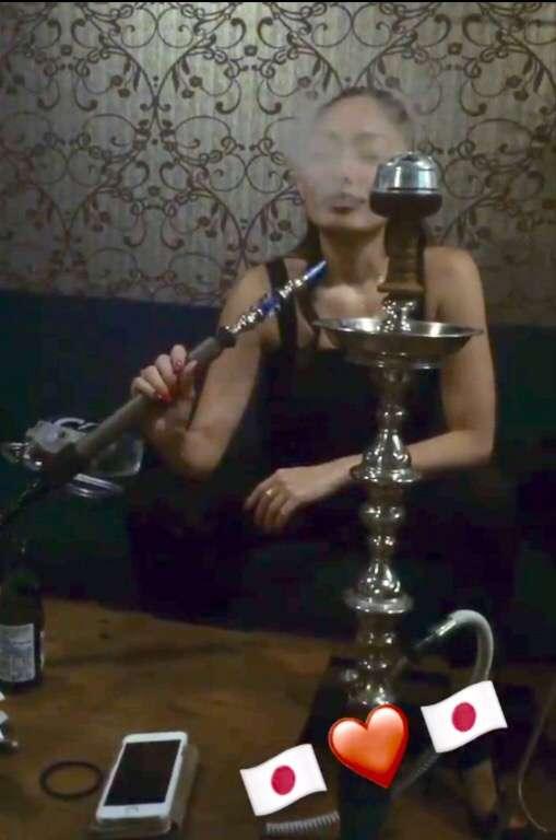 安藤美姫が9時間の夜遊び、水タバコが吸えるカフェなど4店はしご