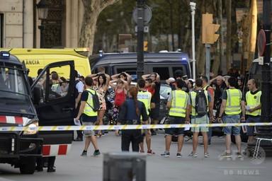 スペイン東部で2件目の車突入、7人負傷 警察が4人射殺 写真1枚 国際ニュース:AFPBB News