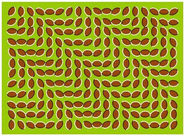 目がチカチカする画像