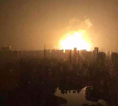 2015年天津浜海新区倉庫爆発事故 - Wikipedia