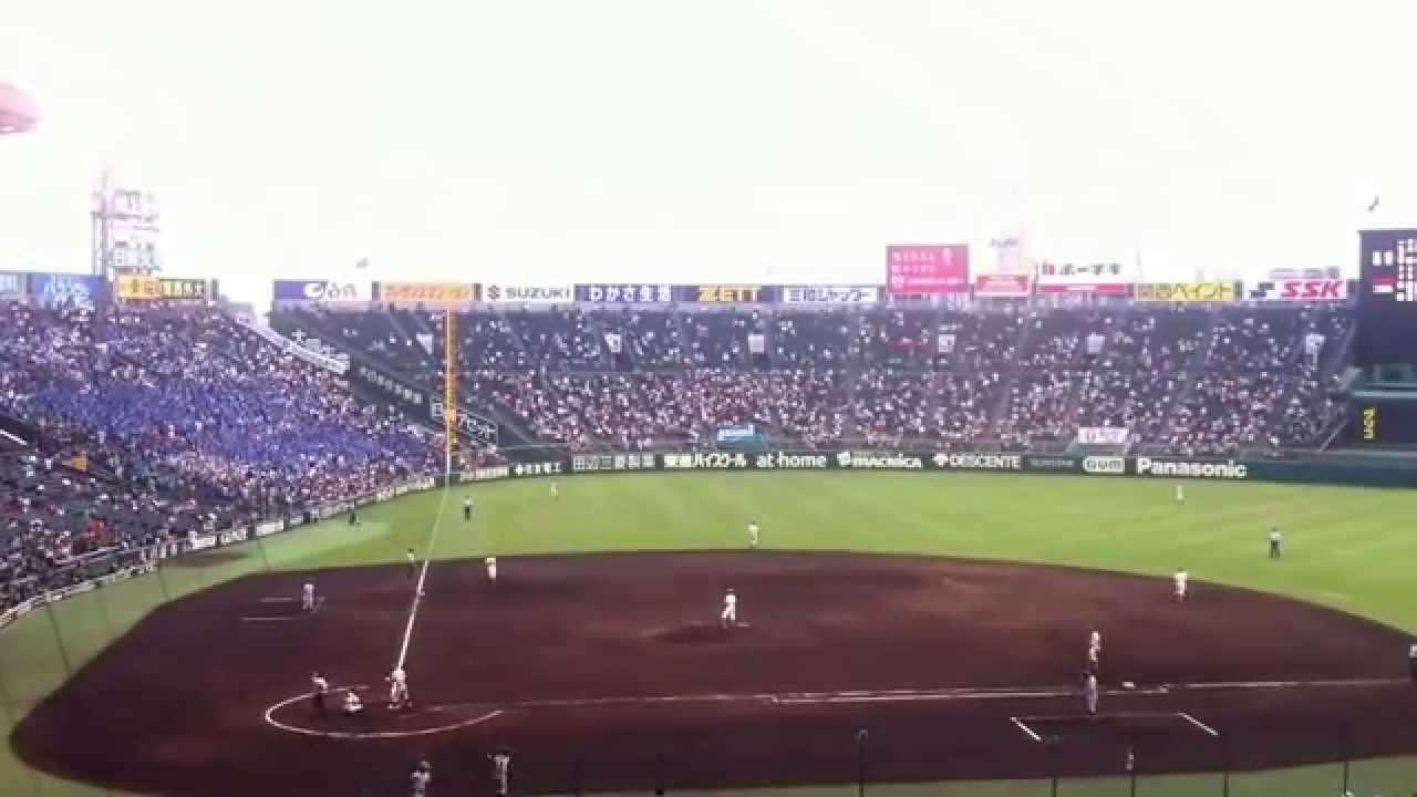 【三沢商業高】「ドラクエ 戦闘のテーマ」(2015夏甲子園) - YouTube