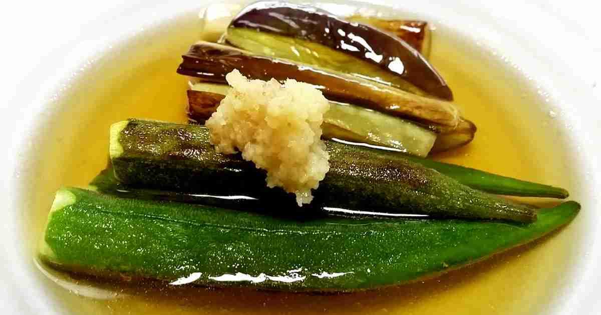 簡単♪茄子とオクラの焼き浸し by クレラッコ [クックパッド] 簡単おいしいみんなのレシピが273万品