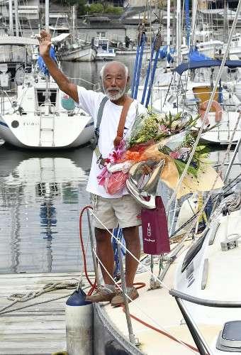 76歳の男性がヨットで世界一周を終える 食料足りずにマグロを釣る (2017年8月26日掲載) - ライブドアニュース