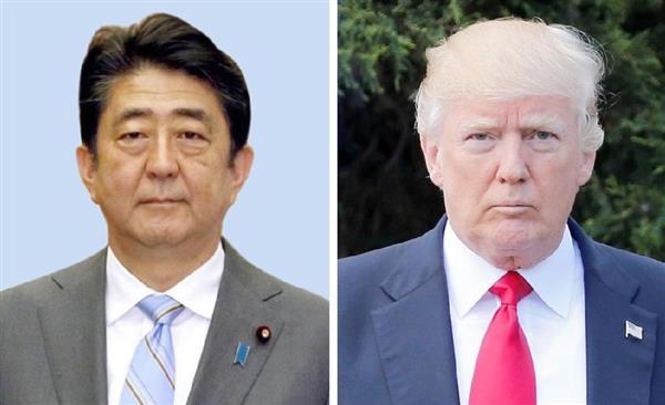 【北ミサイル】日米首脳が電話会談「グアムへのミサイル発射、強行させぬことが一番大事」 対北圧力強化も確認 (1/2ページ) - 産経ニュース