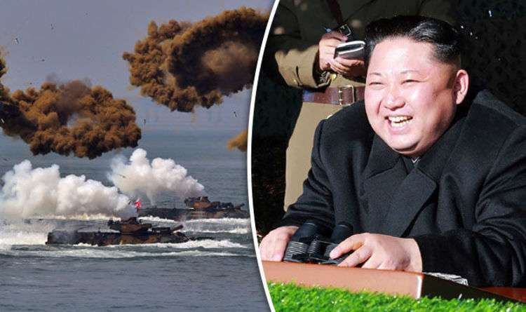 Underwater warfare? North Korea's MYSTERY submarine activity after missile launches | World | News | Express.co.uk