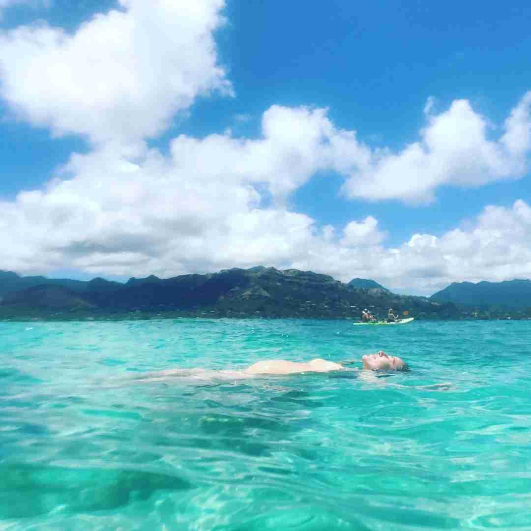 道端ジェシカ、ハワイでビキニ姿に セレブならではの妊婦生活を公開