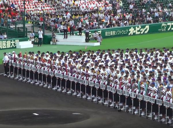 夏の恒例『高校野球』の開会式で女子生徒にアクシデントが発生、批判続出 - ViRATES [バイレーツ]