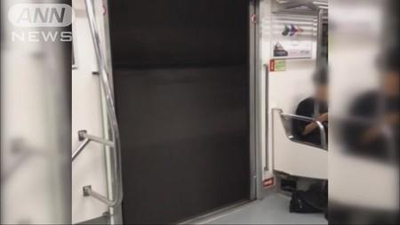 【報ステ】韓国・地下鉄のドア開いたまま走行(テレビ朝日系(ANN)) - Yahoo!ニュース