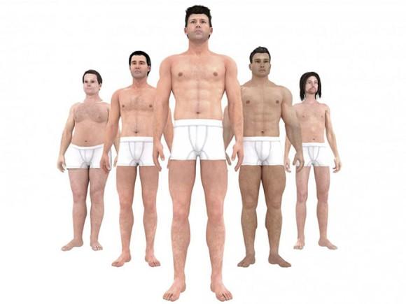 男性の理想体型は時代とともに変化していた。1870年代から現代までの理想体型を比較してみると? : カラパイア