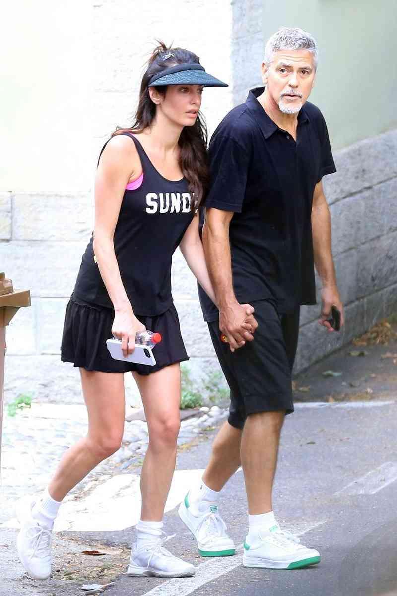 ジョージ・クルーニー&アマル夫妻、見た目年齢差があり得ないほど拡大?