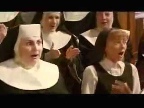【歌詞・直訳】Hail Holy Queen/『天使にラブ・ソングを』より【映画】 - YouTube