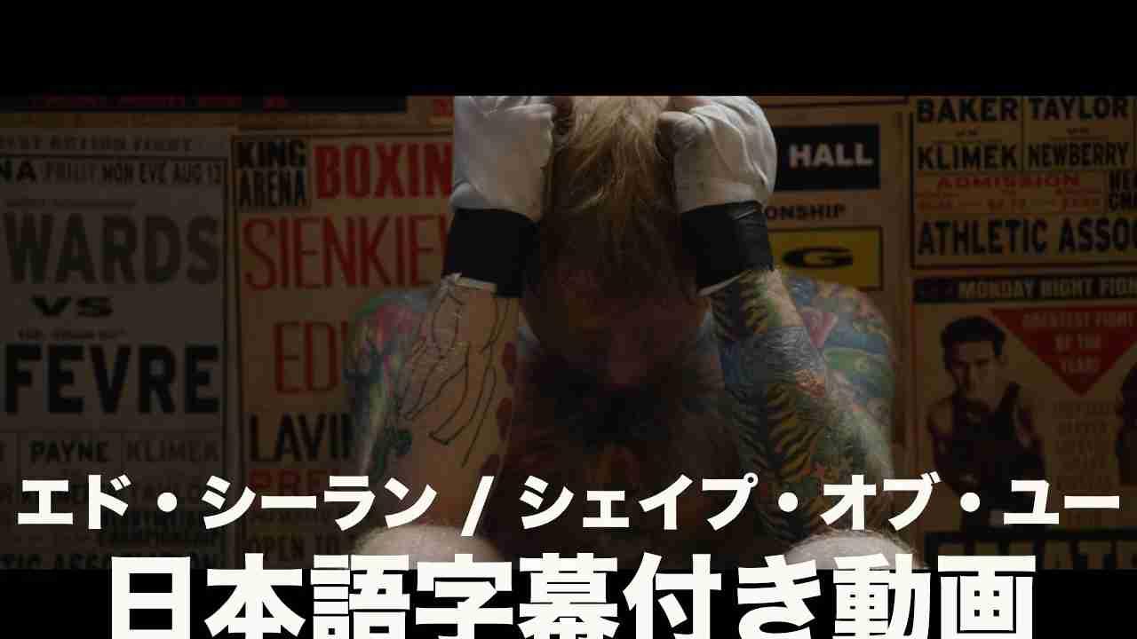エド・シーラン - Shape Of You(字幕付き) - YouTube