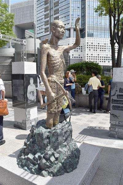 【歴史戦】ソウル・竜山駅前にやせ細った「徴用工像」設置 仁川の三菱工場跡にも さらなる設置計画も - 産経ニュース