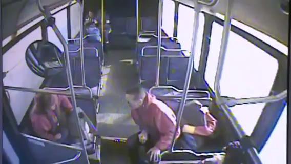 LiveLeak.com - E-Cig explodes in mans pocket while on bus