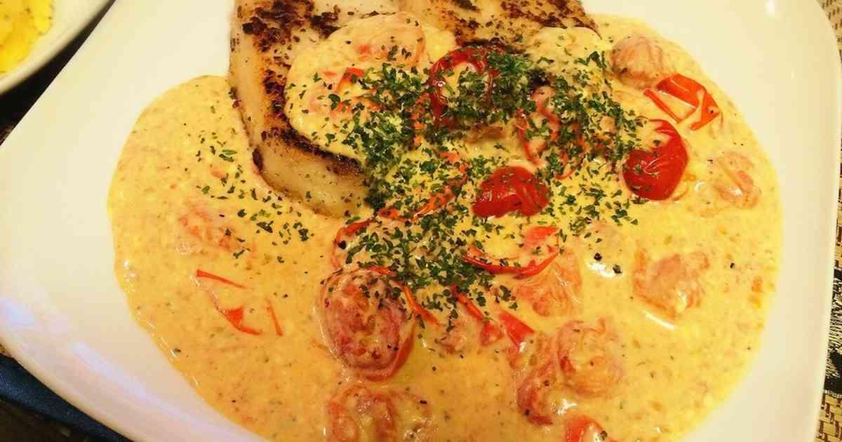 カジキソテーのトマトマヨクリームソース by agochi [クックパッド] 簡単おいしいみんなのレシピが273万品