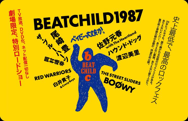 映画『ベイビー大丈夫かっ BEATCHILD1987』 10月26日公開 - MID NIGHT-XXX