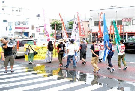 長崎平和式典、祈りの場で非常識デモ 「こんな時も静かにできないか」 (産経新聞) - Yahoo!ニュース