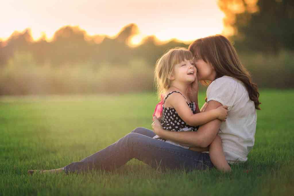 子供と親とのスキンシップ
